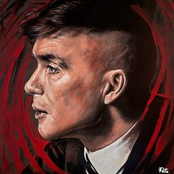 Tommy II by Pete Humphreys - Original Painting on Stretched Canvas sized 28x28 inches. Available from Whitewall Galleries